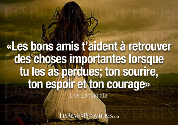 Les Beaux Proverbes Proverbes citations et pens es positives Amiti