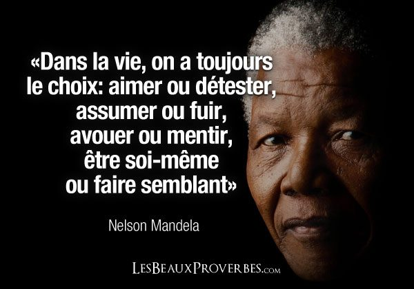 citation nelson mandela